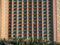 Fachada de un hotel de la Atlántida en Dubai, UAE Fotografía de archivo