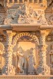 Fachada de un templo hindú Fotos de archivo