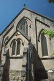 Fachada de una capilla vieja Fotografía de archivo