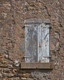 Fachada de una casa francesa vieja Foto de archivo libre de regalías