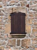 Fachada de una casa francesa vieja Fotografía de archivo