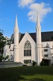 Fachada de una iglesia Imagen de archivo libre de regalías