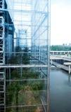 Fachada de vidro Foto de Stock