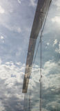 Fachada de vidro Foto de Stock Royalty Free