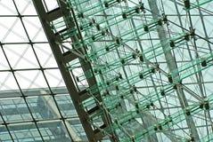 Fachada de vidro alta tecnologia Fotografia de Stock Royalty Free