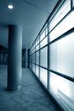 Fachada de vidro branca Foto de Stock