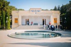 Fachada de Yazd Atash Behram, a categoria a mais alta Zoroastrian de templo do fogo imagens de stock