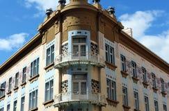 Fachada de Zagreb fotos de archivo libres de regalías