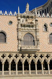 Fachada decorada da estância e do casino Venetian, Las Vegas, Foto de Stock Royalty Free