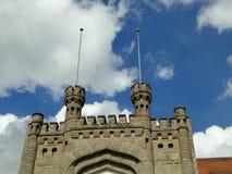 Fachada del castillo Imagenes de archivo