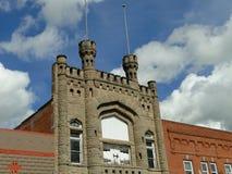 Fachada del castillo Fotos de archivo