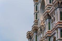 Fachada del Duomo de Florencia fotografía de archivo libre de regalías
