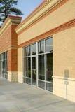 Fachada del edificio comercial Imagen de archivo