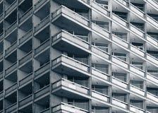 Fachada del edificio concreto moderno Foto de archivo
