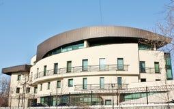 Fachada del edificio de alta tecnología del estilo Fotografía de archivo libre de regalías