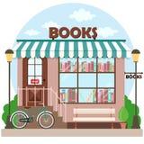 Fachada del edificio de la librería de la librería libre illustration