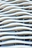 Fachada del edificio de la onda Buiding, Gold Coast imágenes de archivo libres de regalías