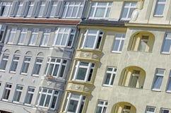 Fachada del edificio de Nouveau del arte Fotografía de archivo libre de regalías