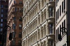 Fachada del edificio del desván Fotografía de archivo libre de regalías