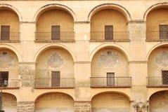 Fachada del edificio en Cordova Imagenes de archivo