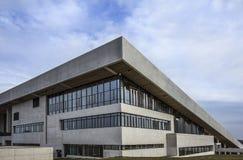 Fachada del exterior de Aarhus Dinamarca del museo de Moesgaard Fotos de archivo libres de regalías