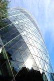 Fachada del hacha Londres del St Maria Foto de archivo libre de regalías