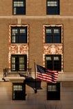 Fachada del hotel de W en Washington, C.C. con Ameri imagen de archivo