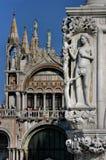 fachada del marco de san Foto de archivo