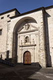 Fachada del monasterio de Anunciada Fotos de archivo libres de regalías