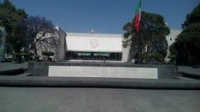 Fachada del museo Imagen de archivo libre de regalías
