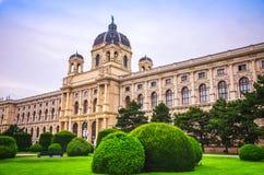 Fachada del museo de la historia natural en Viena fotos de archivo libres de regalías