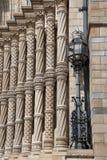 Fachada del museo nacional de la historia Foto de archivo libre de regalías
