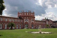 Fachada del palacio de Biebrich Imagenes de archivo
