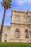 Fachada del palacio de Dolmabahce Fotos de archivo libres de regalías
