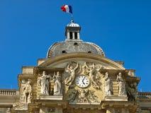Fachada del palacio de Luxemburgo Imagen de archivo libre de regalías