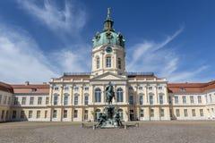 Fachada del palacio de Schloss Charlottenburg en Berlín, Alemania - Europa Fotos de archivo