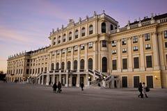Fachada del palacio de Schoenbrunn, Austria Imagenes de archivo