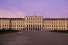 Fachada del palacio de Schoenbrunn, Austria Imágenes de archivo libres de regalías