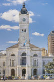 Fachada del palacio del gobierno en Moreno Square en La Plata Buenos imagen de archivo