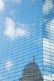 Fachada del rascacielos Imagenes de archivo