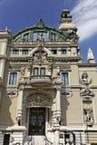 Fachada del Salle Garbier, hogar de la ópera de Monte Carlo Fotos de archivo