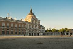 Fachada del sur del palacio de Aranjuez Fotos de archivo