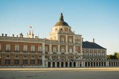 Fachada del sur del palacio de Aranjuez Fotografía de archivo
