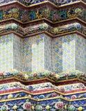 Fachada del templo Wat Pho en Bangkok Fotos de archivo libres de regalías