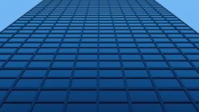Fachada del vidrio del rascacielos ilustración del vector