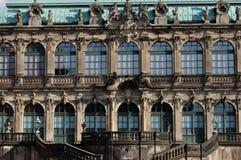 Fachada del zwinger, Dresden Imagen de archivo libre de regalías