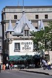 Museo del fuerte en la ciudad de Quebec vieja fotografía de archivo libre de regalías