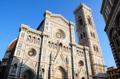 Fachada do domo de Florença imagem de stock