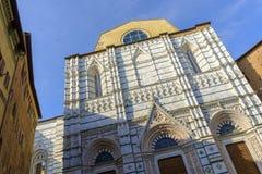 Fachada do domo, Siena, Toscânia, Itália Fotografia de Stock Royalty Free