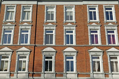 Fachada do edifício de Nouveau da arte Foto de Stock